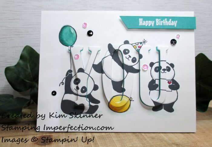 Stamping Imperfection Party Pandas Inlaid Die Cutting