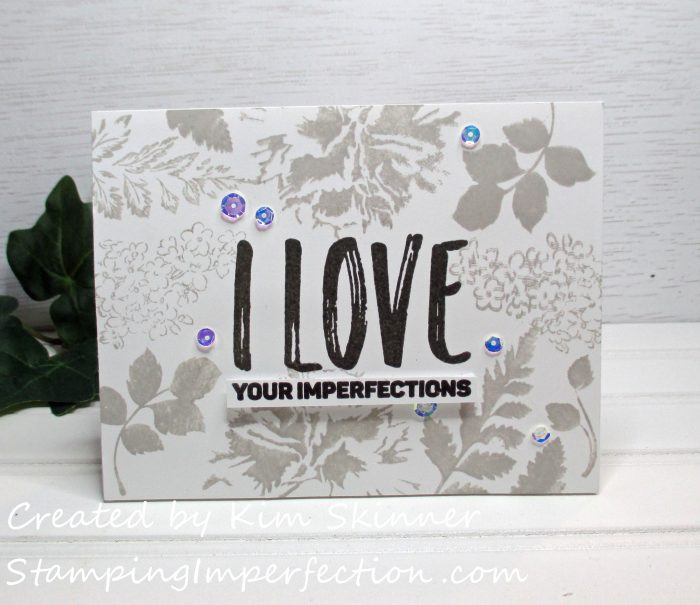Stamping Imperfection Impressive Heat Embossing
