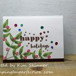 Altenew Educator Certification Program:  Last Minute Holiday Cards