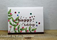 Stamping Imperfection Last Minute Holiday Cards
