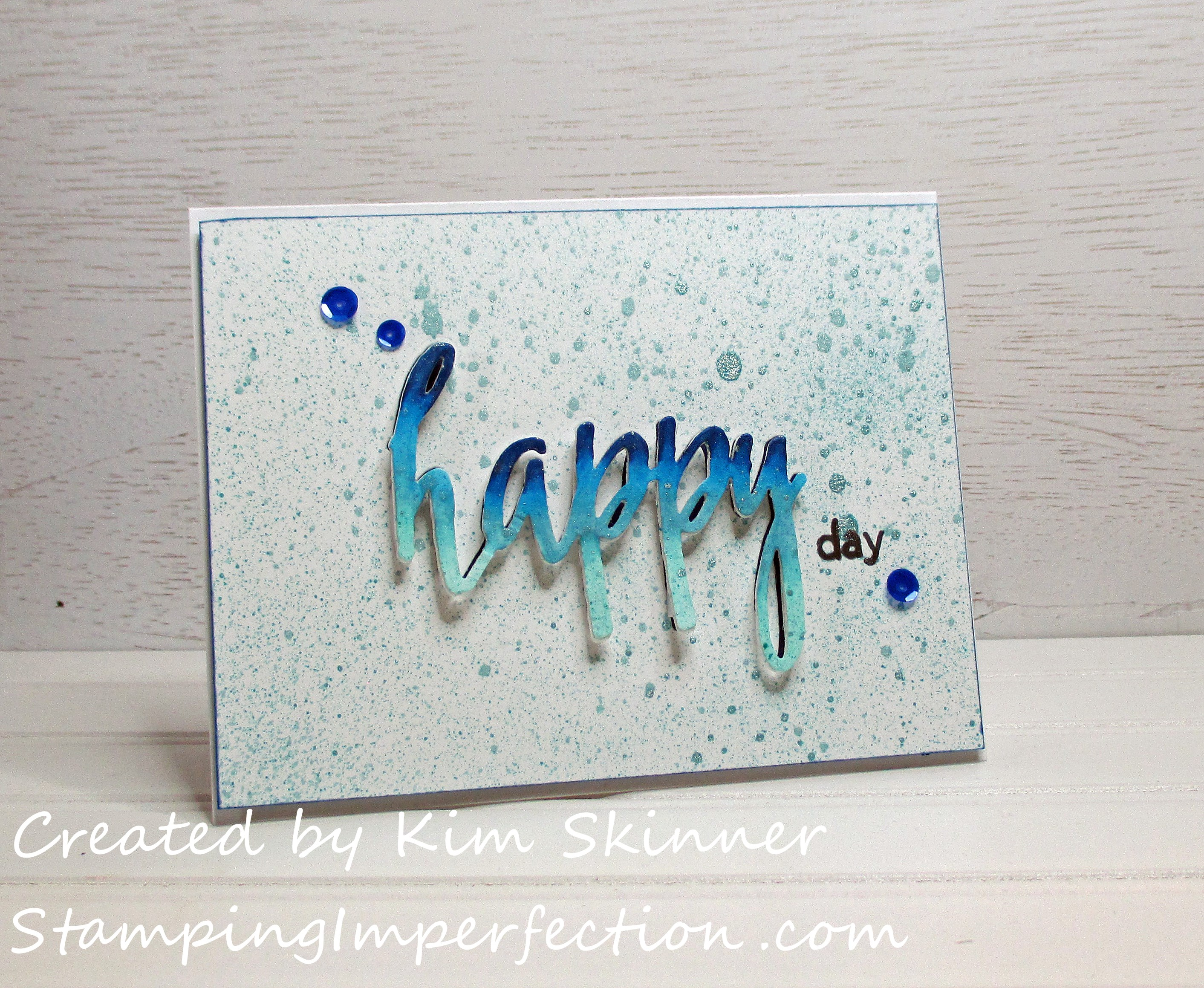 Stamping Imperfection Magical Marker Techniques