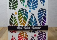 Stamping Imperfection Creative Coloring With Artist Markers
