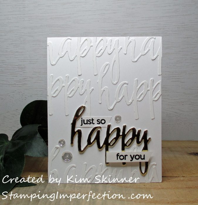 Stamping Imperfection Sentiments With Impact