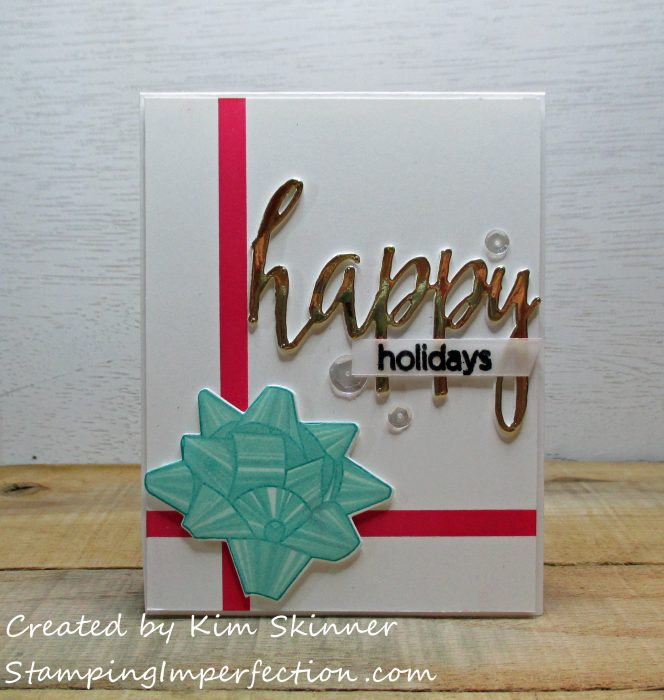Stamping Imperfection 'Tis The Season