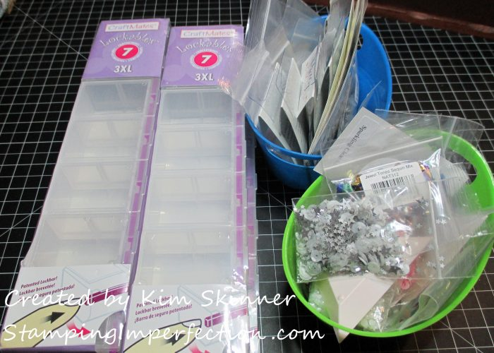 Stamping Imperfection Organizing Sequins