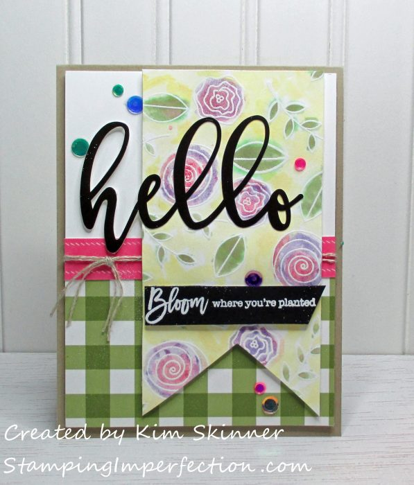 Stamping Imperfection Simon Says March Kit and PCCC284