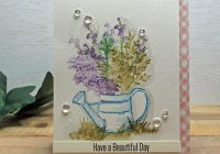 Stamping Imperfection Watercoloring with Art Impressions
