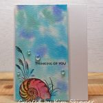 Gina K Designs By The Sea 2 With Distress Oxide Background Technique