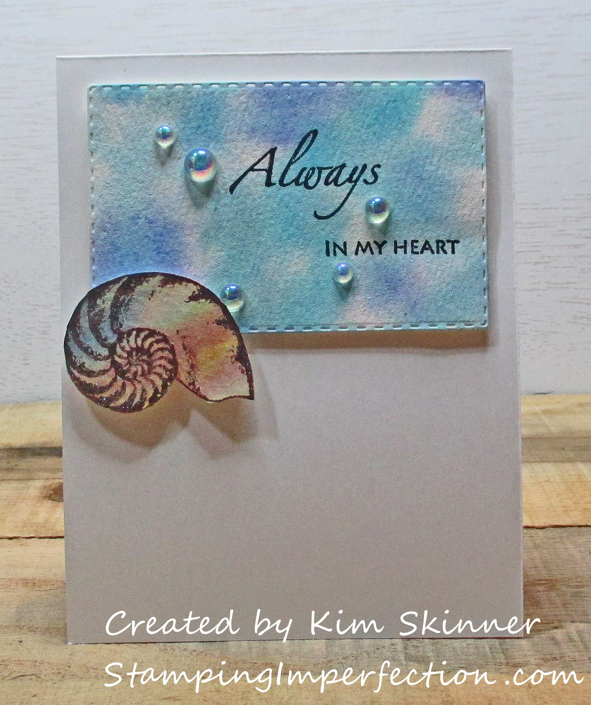 Stamping Imperfection Gina K By the Sea