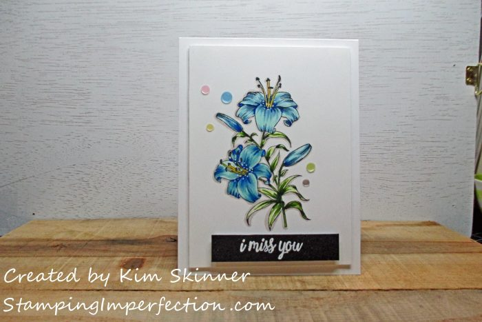 Stamping Imperfection Gina K Designs Thank You Friend