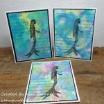 Lavinia Stamps Fairies and Mermaids
