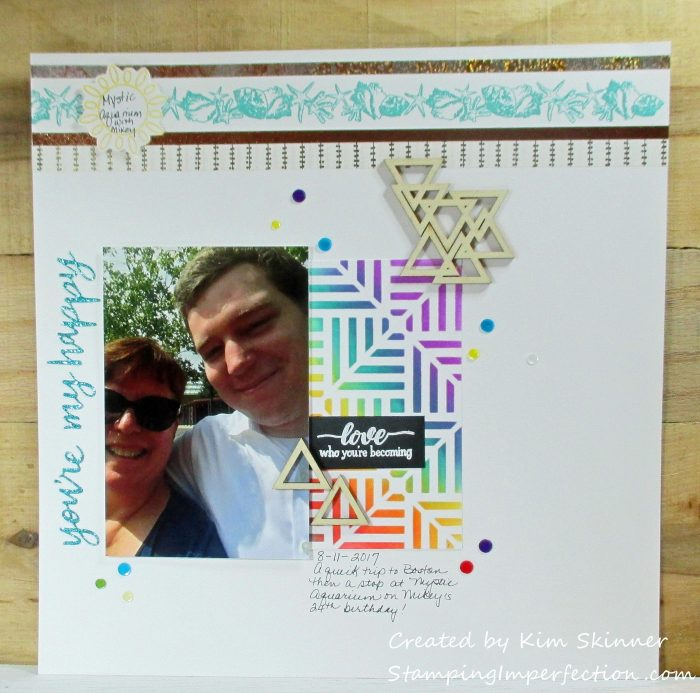 Stamping Imperfection Scrap Challenge Yourself