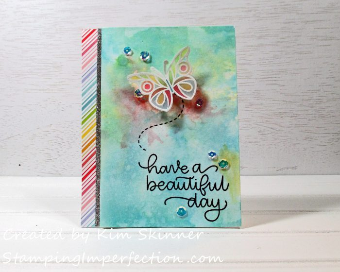 Stamping Imperfection Beautiful Day