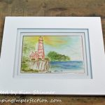 Watercoloring:  If I Frame It, Does That Make It Art?