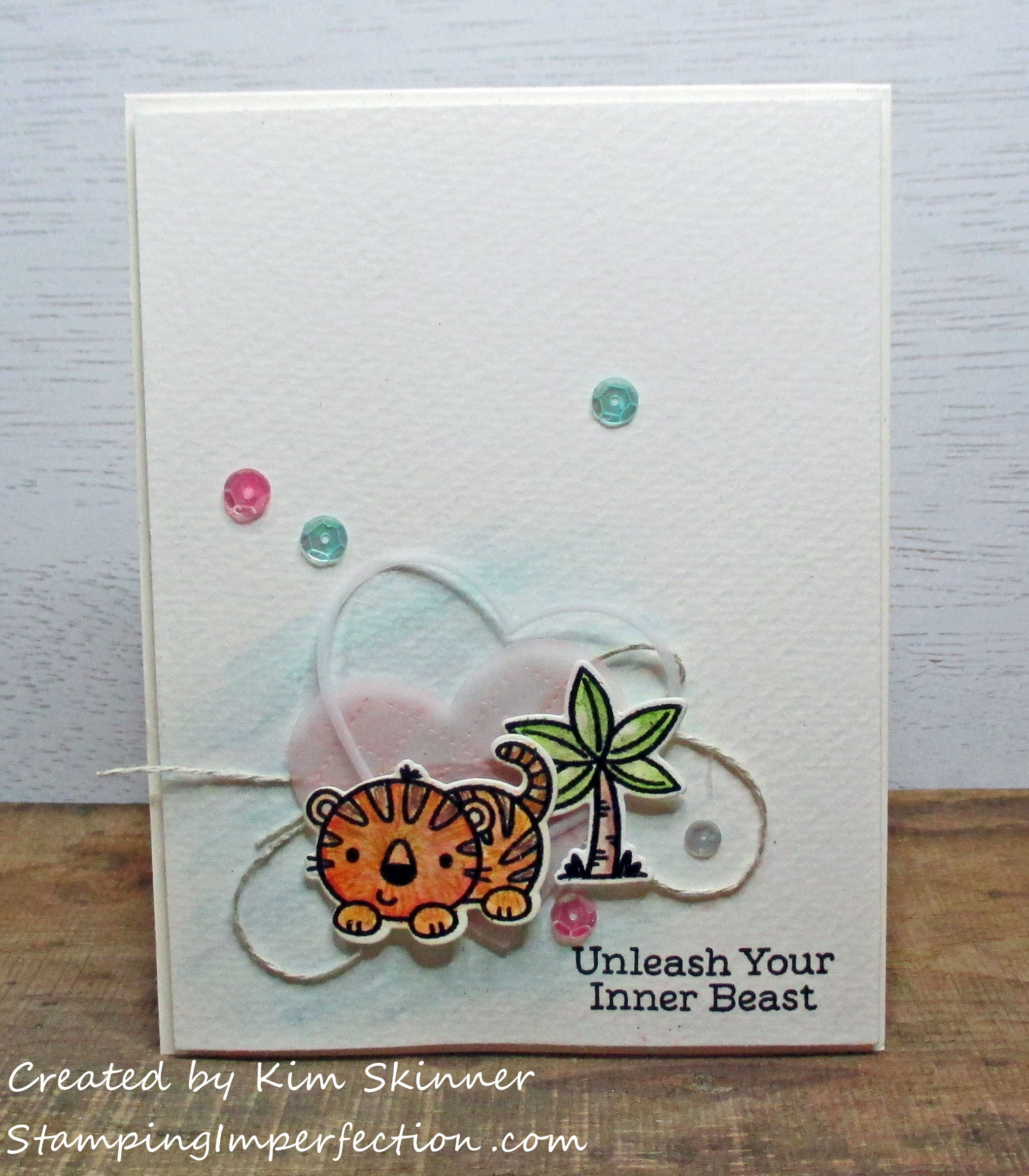 Stamping Imperfection MFT Fierce Friends