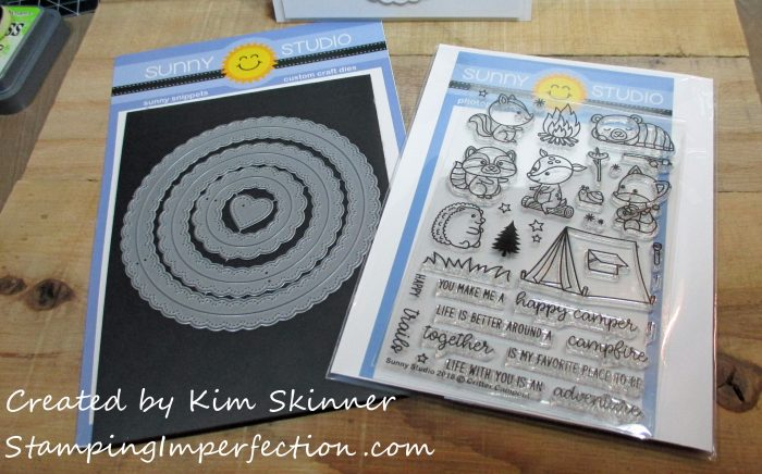 Stamping Imperfection Sunny Studios Critter Campout
