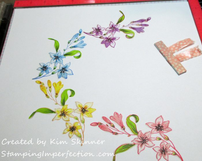 Stamping Imperfection Altenew Scrapbook Challenge 10