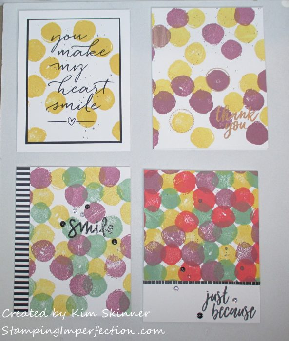 Stamping Imperfection Turnabout Stamps C9