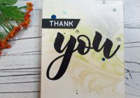 Stamping Imperfection Altenew Watercolors and Stencils