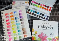Stamping Imperfection Altenew Watercolor Swatch Book