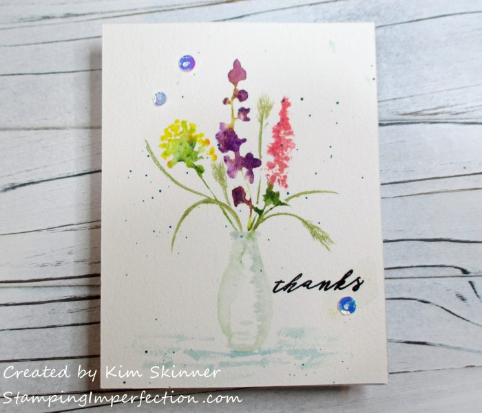 Stamping Imperfection Altenew Watercoloring Set