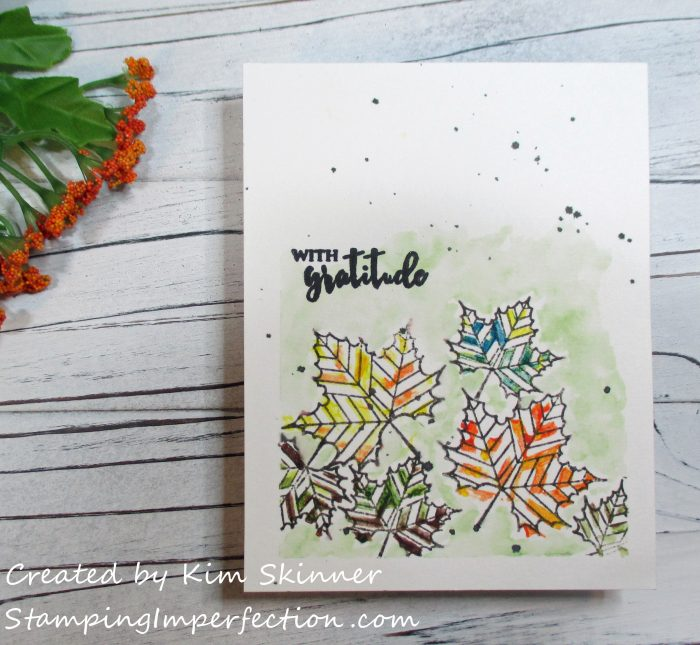 Stamping Imperfection Altenew Watercolors