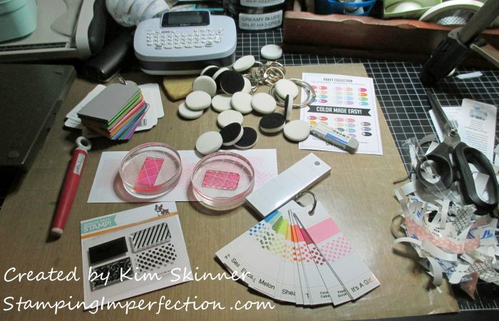 Stamping Imperfection Catherine Pooler Ink Pad Swatches