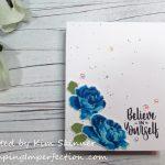 Layering Stamps:  Rose Garden