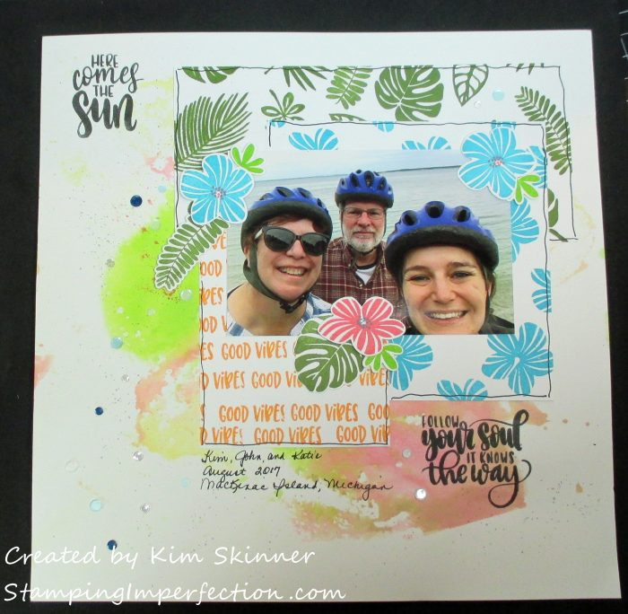 Stamping Imperfection Tropical Paradise Catherine Pooler Designs
