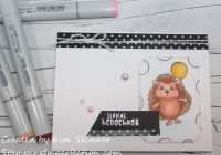 Stamping Imperfection Hedgehog Hollow Card Kit