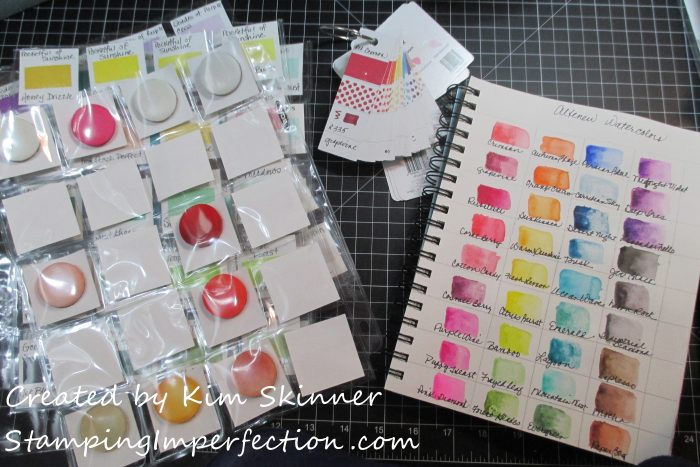 Stamping Imperfection Altenew Ink Swatches