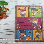 Sunny Studio Fall Release:  Fall Kiddos and Comic Strip Dies