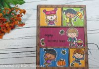 Stamping Imperfection Sunny Studio Fall Kiddos