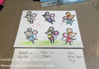 Stamping Imperfection 3 Ways To Add Watercolor Pencil colors
