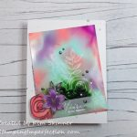 Alcohol Ink Background With Alcohol Lift Ink