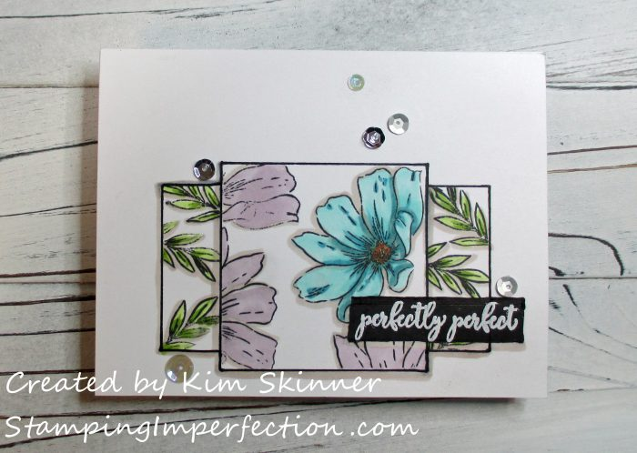 Stamping Imperfection Faux Layers and Drop Shadow