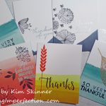 Quick Set Of Cards Using A Free Gift From Concord & 9th
