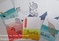 Stamping Imperfection Dip-Dyed Card Set