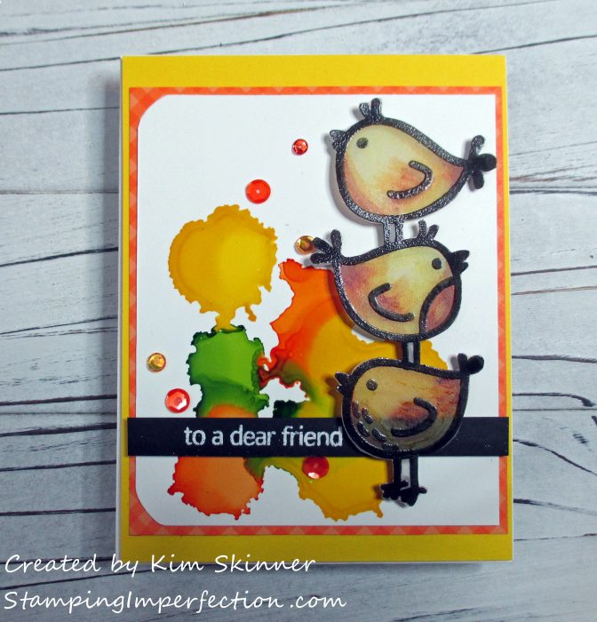 Stamping Imperfection Little Birdies