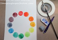 Stamping Imperfecton Color Theory