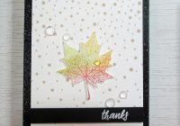 Stamping Imperfection Fall Cards