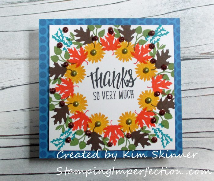 Stamping Imperfection Wreath Builder