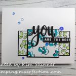 Create Your Own Patterned Paper For A Unique Card