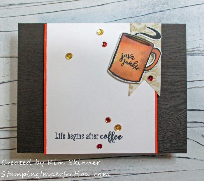 Stamping Imperfection Life Begins After Coffee