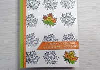 Stamping Imperfection Beautiful Autumn Sunny Studio