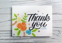 Stamping Imperfection Simon Says Thank You