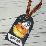 Create A Quick Halloween Tag With Nuvo Glow Drops