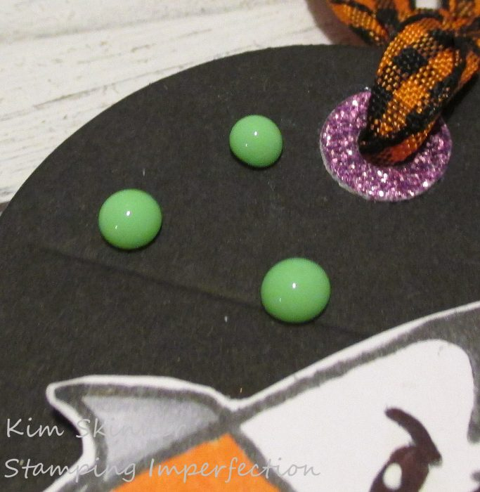 Stamping Imperfection Halloween Tag