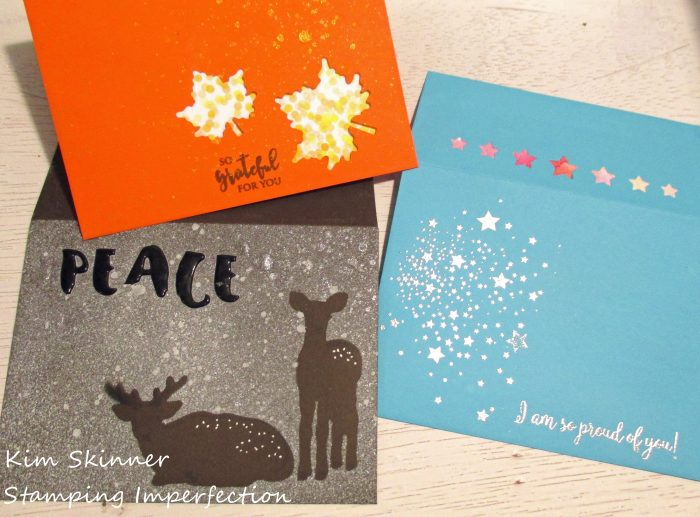 Stamping Imperfection Envelope Love