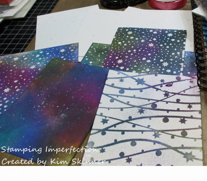 Stamping Imperfection Backgrounds